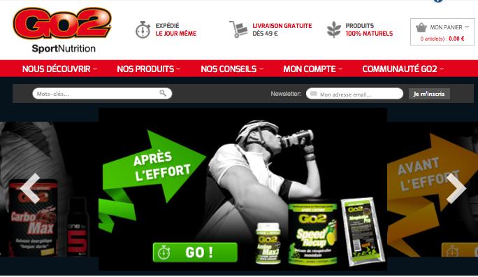 Un nouveau départ pour GO2 Sport Nutrition