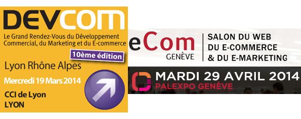 Rencontrez-nous aux salons DevCom & eCom Genève