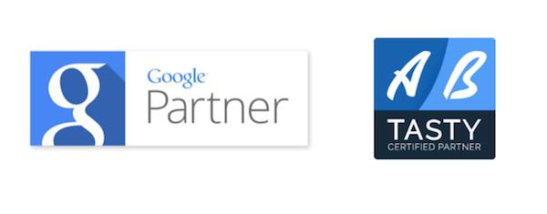 UpMyBiz devient agence certifiée par Google et AB Tasty