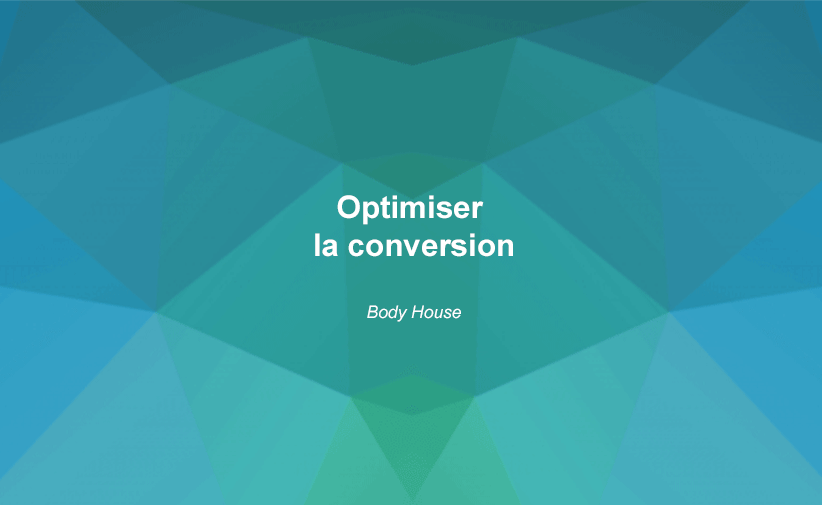 optimiser conversion body house