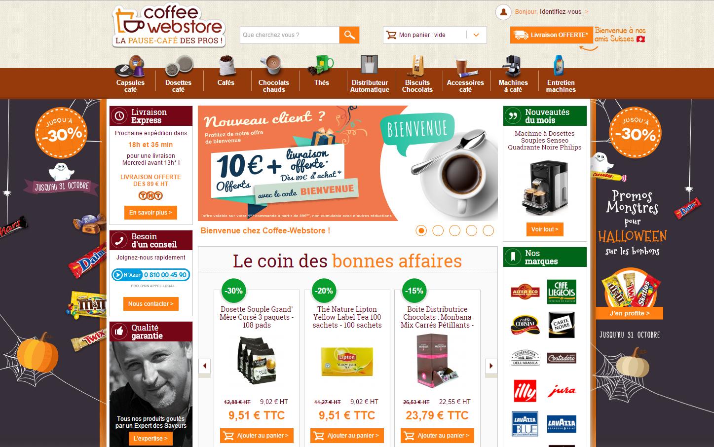 homepage-coffeewebstore