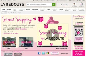 laredoute-street-shopping-Strategie-webmarketing-mobile