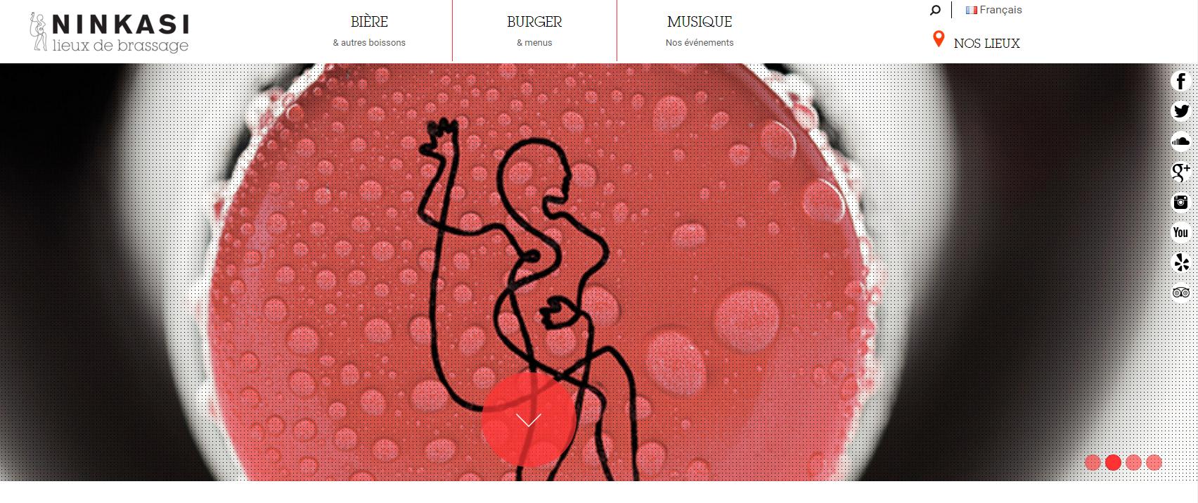 ninkasi home page