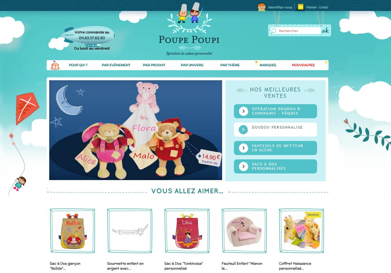 poupe poupi home page