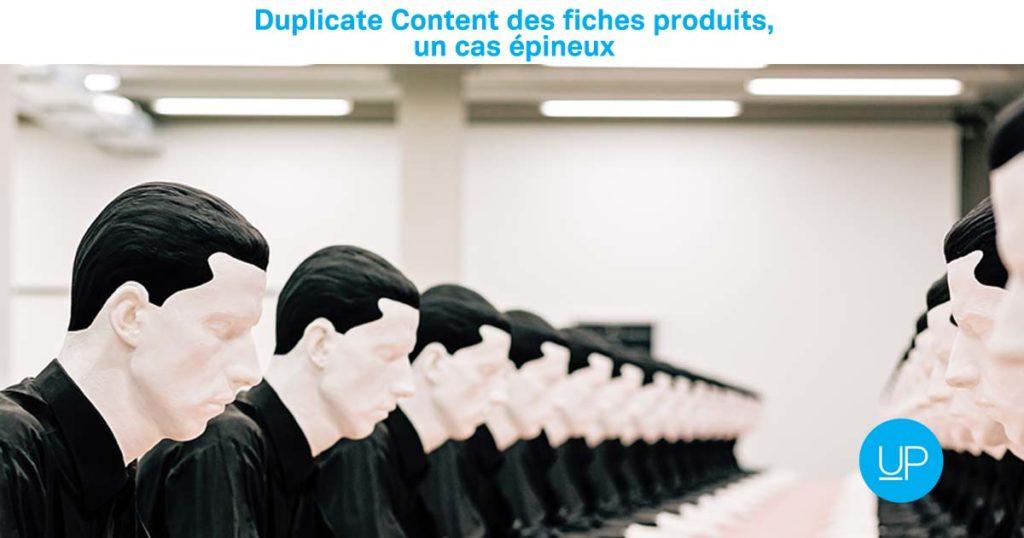 Duplicate Content Fiches produits