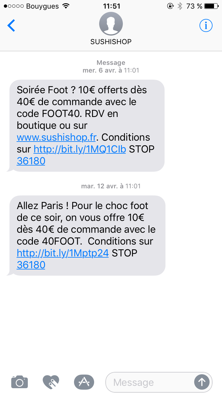 Le SMS Marketing pour attirer du trafic sur mobile