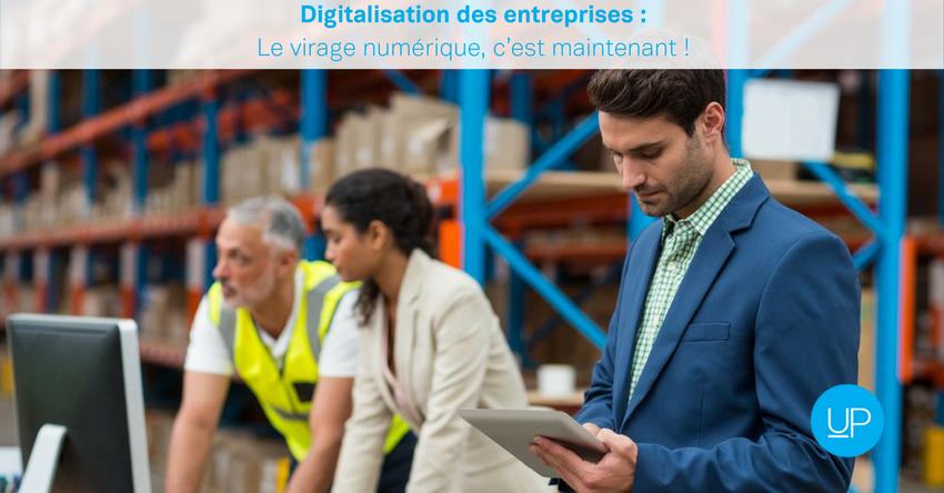 Digitalisation des entreprises: le virage numérique, c'est maintenant!