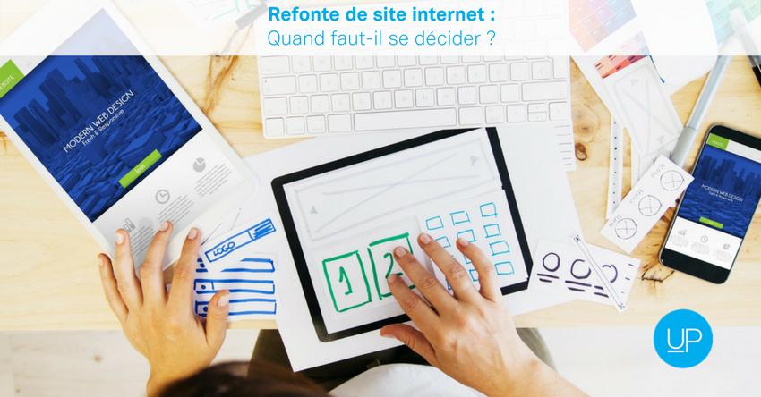 Refonte de site internet: quand faut-il se décider?