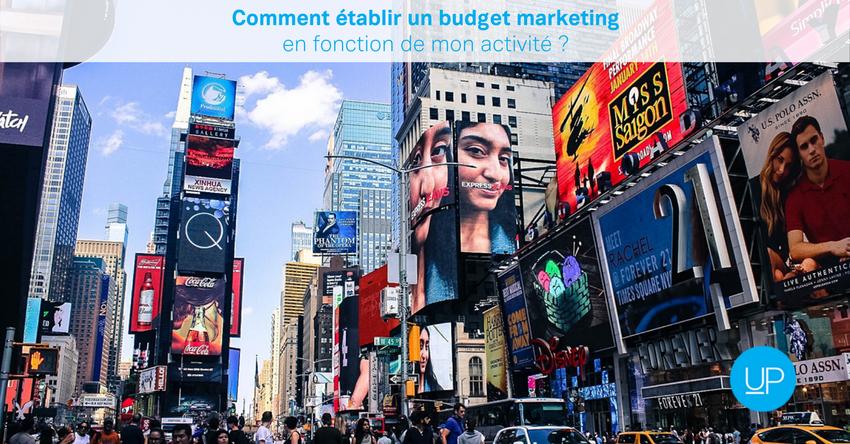 Comment établir un budget marketing en fonction de mon activité?