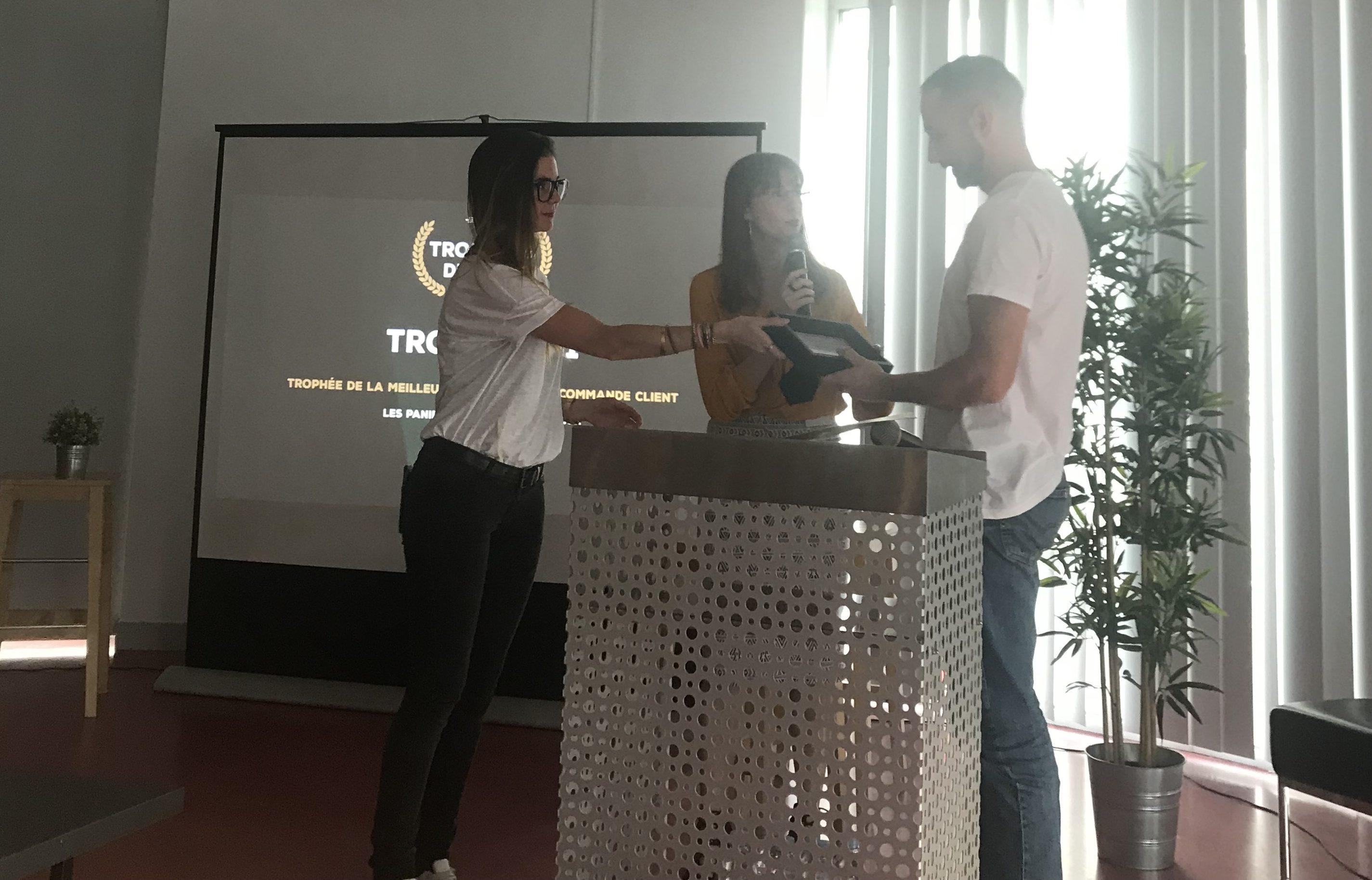 Les trophées du web 1