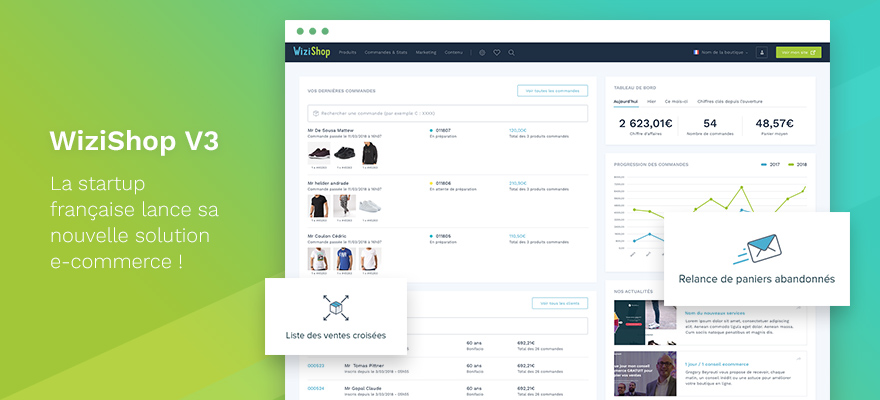 WiziShop lance la nouvelle version de sa solution e-commerce