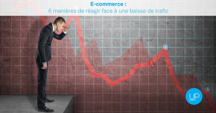 E-commerce: 6 manières de réagir face à une baisse de trafic