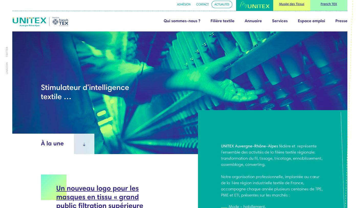 unitex site web
