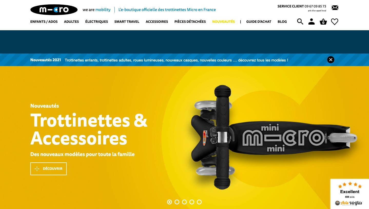 micro mobility site web