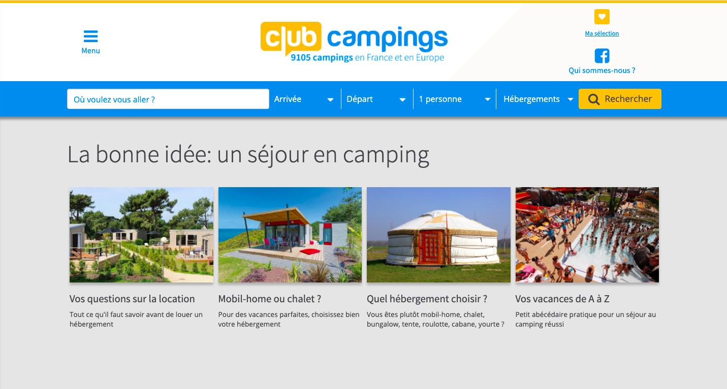 club campings