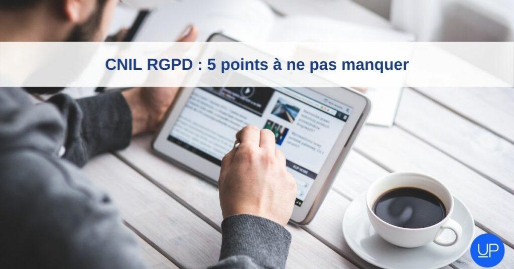 cnil rgpd protection donnes personnelles