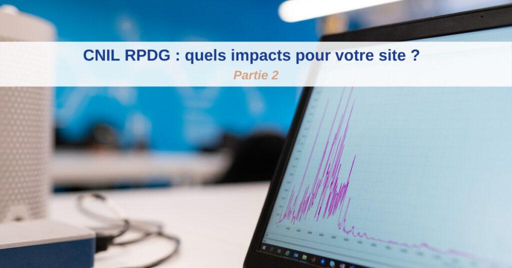 cnil rgpd impacts site
